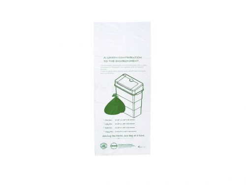 SANI BIN™ Oxo-biodegradable Bin Liner with Bio-organic Gel Odour Neutraliser