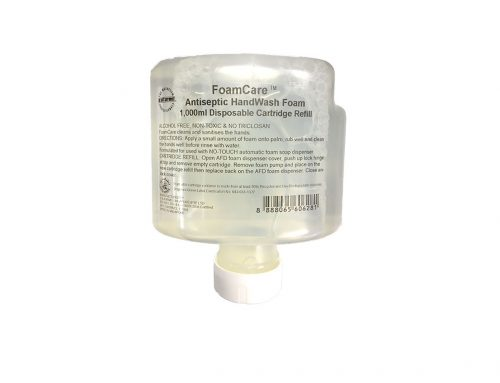 FoamCare™ 1,000ml Antiseptic Foam Hand Wash